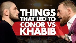Video 10 Significant Things That Led To Conor vs Khabib MP3, 3GP, MP4, WEBM, AVI, FLV Oktober 2018