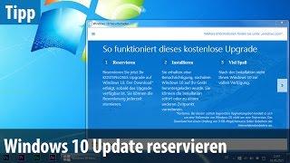 Windows 10 - Update reservieren & so viel kostet das neue Windows | deutsch / german, windows 10, windows 10 for phone, windows 10 for pc, windows 10 microsoft