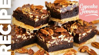 AMAZING Chocolate Pecan Pie BROWNIE! | Cupcake Jemma by Cupcake Jemma