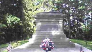 Fremont (OH) United States  city pictures gallery : Me at Rutherford B hayes' Gravesite in Fremont Ohio