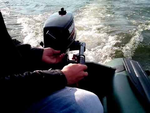 видео испытания лодочного мотора 6 л.с