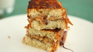 Peanut Butter and Milk Chocolate Sandwich - Everyday Food with Sarah Carey by Everyday Food