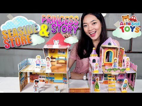Membangun Istana Princess - Asta And Toys