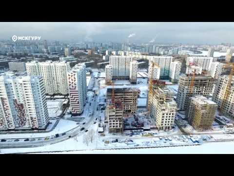 """Квартиры в ЖК """"Ривер Парк"""" (River Park) в Москве, ЮАО район, метро Коломенская"""