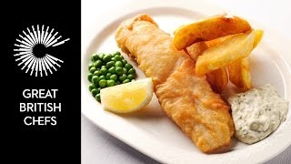 How to make fish and chips with Nathan Outlaw
