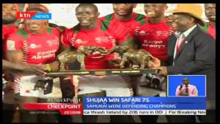 CheckPoint: Kenya Shujaa Team Reclaims Safari 7's Title Beating Samurai, September 25th 2016