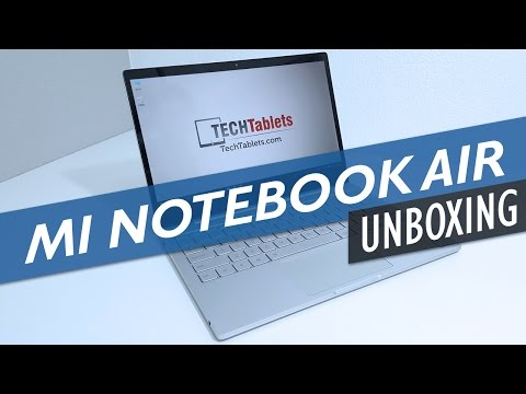 Xiaomi Mi Notebook Air Unboxing,  In-Depth First Look & Impressions (English)