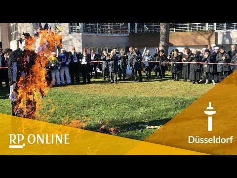 Aschermittwoch: Hoppeditz-Beerdigung in Düsseldorf:
