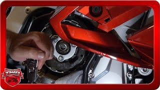 8. How To Upgrade A Yamaha FJR1300 Clutch To 2016 Slipper With Easy Pull