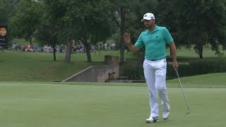 Sergio Garcia dials in tee shot at AT&T Byron Nelson by PGA TOUR