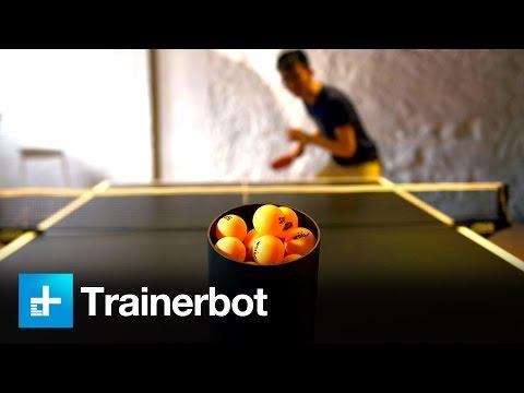 Tennis tavolo: con Trainerbot ci si allena da soli