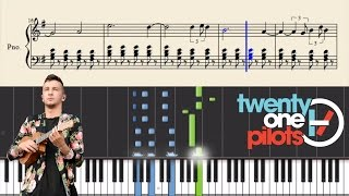 twenty one pilots: Slowtown - Piano Tutorial + Sheets