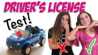 Taking the Driver's License Test | Brooklyn and Bailey by Brooklyn and Bailey