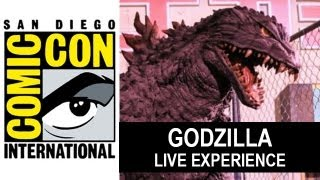 Godzilla 2014 At Comic Con 2013 : Live Encounter - Beyond The Trailer