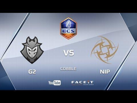 G2 vs NiP, cobblestone, ECS Season 4 Europe