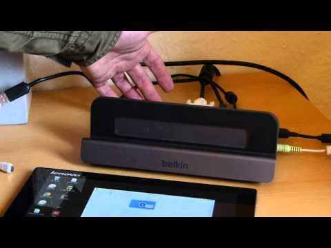 Lenovo Miix 2 10 USB Docking Solutions Belkin, Displaylink
