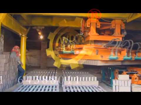 Hoffman system brick kiln Wangda brick setting machine