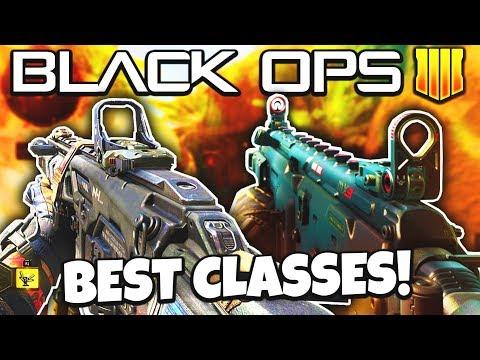Black Ops 4: BEST CLASS SETUPS & GUNS!