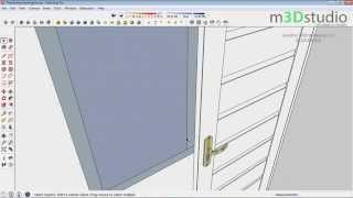 Video How to build terraced house #3 - make Doors and Windows - Sketchup Tutotrial MP3, 3GP, MP4, WEBM, AVI, FLV Desember 2017