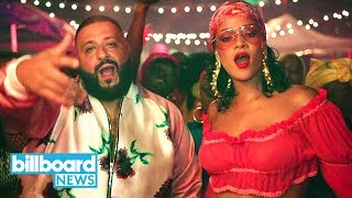 DJ Khaled's 'Wild Thoughts' Collaboration With Rihanna & Bryson Tiller Drops Today | Billboard News