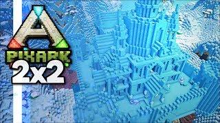 Ice Castle Raids! Grabbing Some Easy Loot! • PixARK 2x2 Server