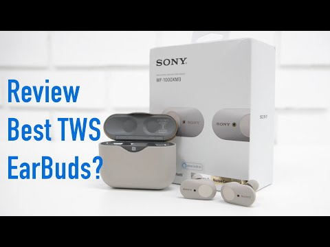 Sony WF 1000XM3 Premium TWS Earbuds Review - Are these the Best