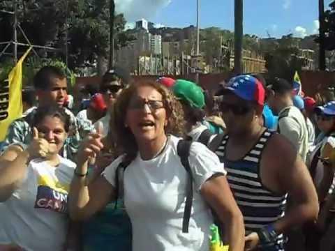 Sordos apoyando a Carpiles (Caracas 30/09/12)