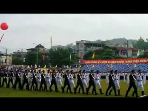Diễu binh hoành tráng kỷ niệm 60 năm Chiến thắng Điện Biên Phủ