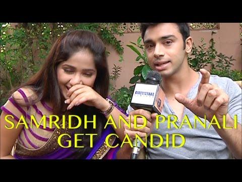 Samridh & Pranali aka LD & Radha of Mere Rang Me R