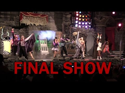 Full Final Performance of Beetlejuice Graveyard Revue at Universal Studios Florida
