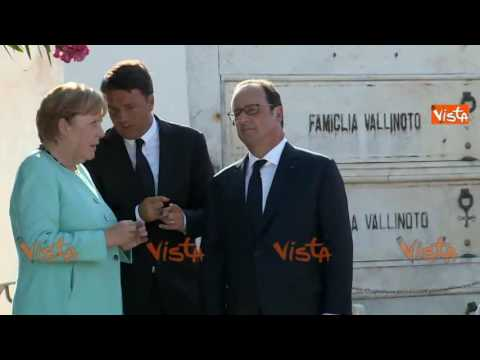 Preview video La visita a Ventotene dei tre Capi di Governo il 22 agosto 2016