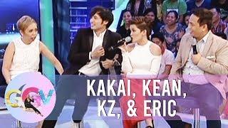 Video GGV: Kakai, Eric, Kean, KZ try to imitate different characters MP3, 3GP, MP4, WEBM, AVI, FLV Januari 2019