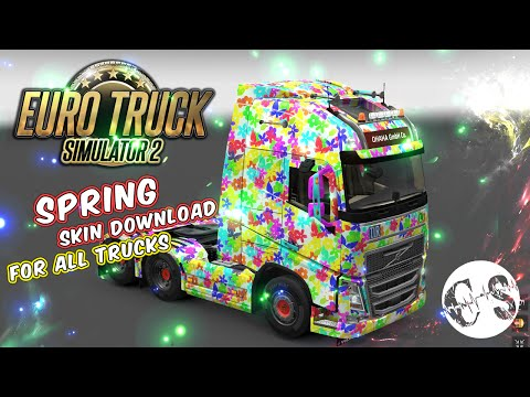 Spring Skin for All Trucks + Volvo FH16 2013 by ohaha