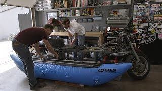 The Boatorcycle! Building an Amphibious Bike—Throttle Out Preview Ep. 12 by Motor Trend