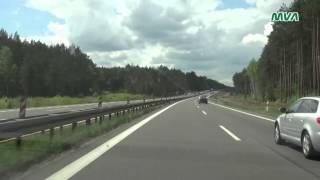 Teltow Germany  city images : Fahrt von Polen nach Deutschland über A2 A12 A10 B101 bis Teltow