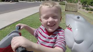 Killer Bees the Second Swarm! Jaws Shark and Cole get Chased by Bee Swarm.