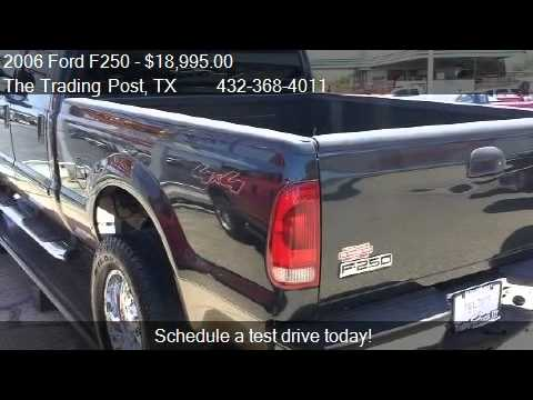 797 wipers - The Trading Post 4201 N DIXIE BLVD in ODESSA, TX 79762 Come test drive this 2006 Ford F250 XLT Crew Cab 4WD for sale in ODESSA, TX. http://www.thetradingpost...