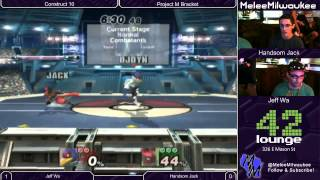 Construct 10 – DJ Dynamite (Falco) vs Handsome Jack (Lucario) – Project M