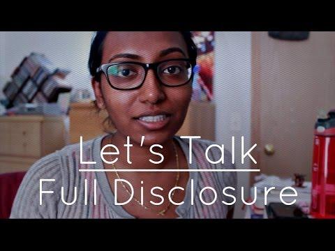 Let's Talk | Full Disclosure