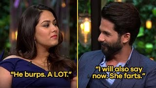10 Romantic Shahid Kapoor and Mira Rajput Quotes From Koffee With Karan   SpotboyE full download video download mp3 download music download