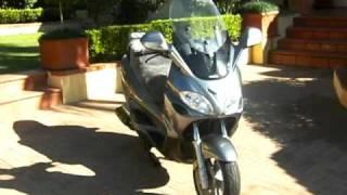 10. PIAGGIO X9 500 evolution maxi scooter