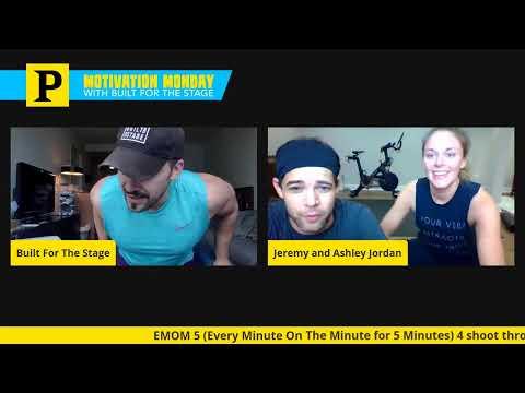 Jeremy Jordan & Ashley Spencer Join Built for the Stage's Monday Motivation