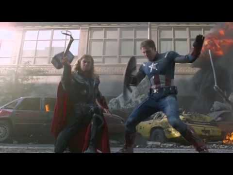 The Avengers trailer Recut From the Blooper Reel