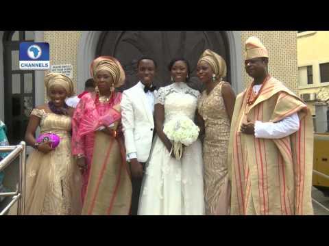 Metrofile: Adebayo Omoboriowo & Omolola Begin Life As Couple
