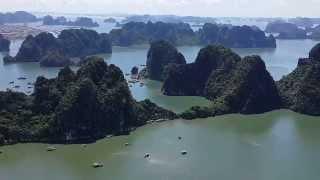 Toàn Cảnh Vịnh Hạ Long 2014 - Panorama Of Ha Long Bay 2014 - Phượt Vịnh Hạ Long