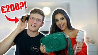 "Video Boyfriend Guesses the Price of ""Girly"" Things *Gone WRONG* 