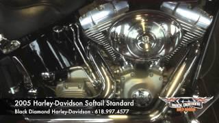 8. 2005 Harley-Davidson Softail Standard