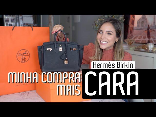 Hermès BIRKIN - Quanto Custa? Como comprar? História e muito mais! - Luisa Accorsi