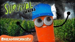 How to Survive a TORNADO | SURVIVAL HACKS