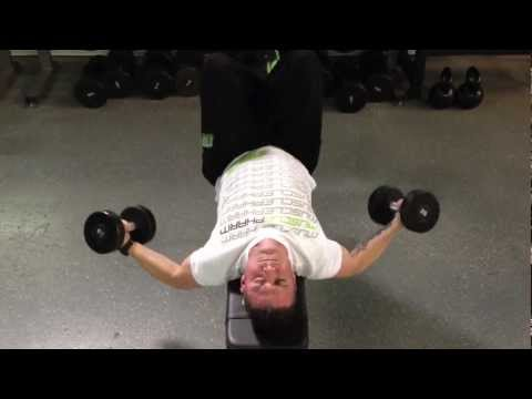 Flat Bench Dumbbell Fly